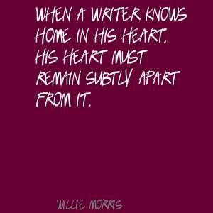 Willie Morris's quote #4