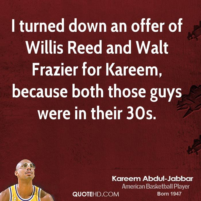 Willis Reed's quote #1