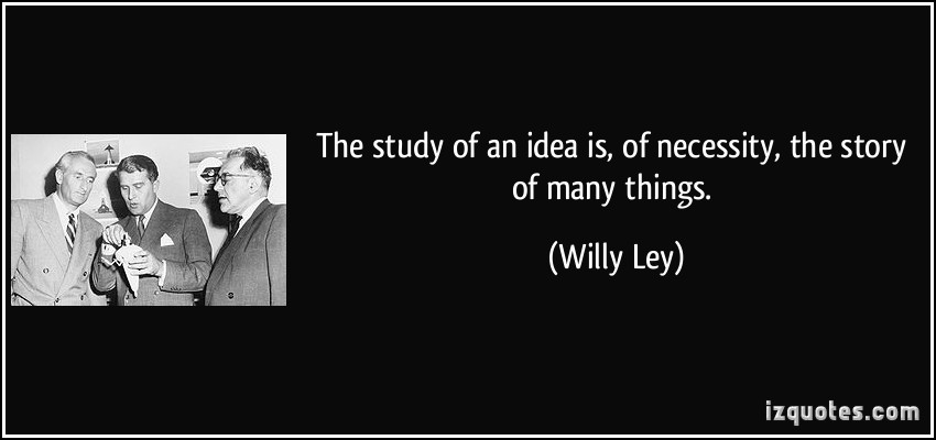 Willy Ley's quote #1