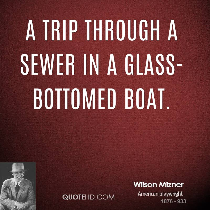 Wilson Mizner's quote #4