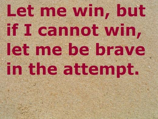 Win quote #1