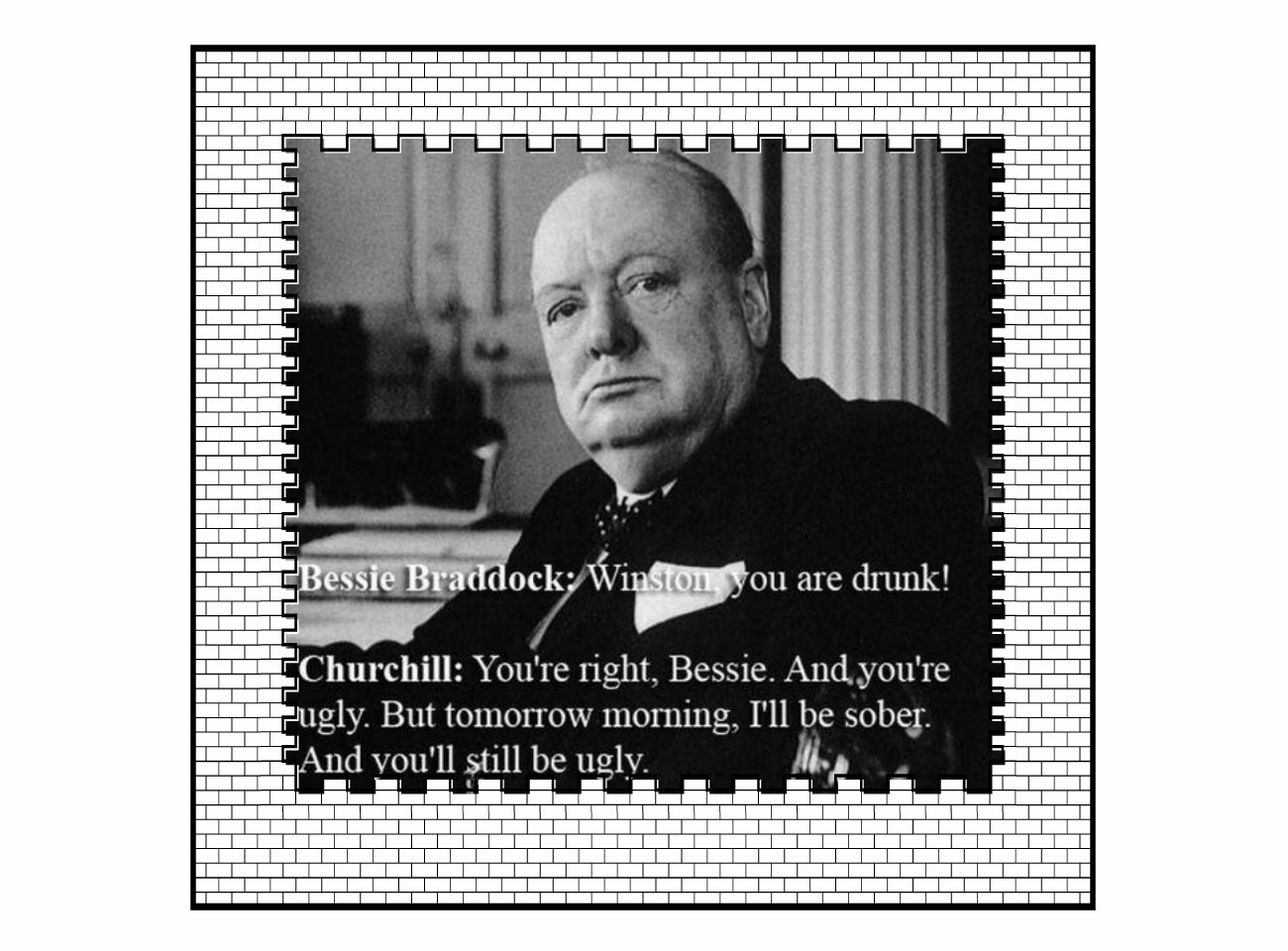 Winston Churchill quote #1