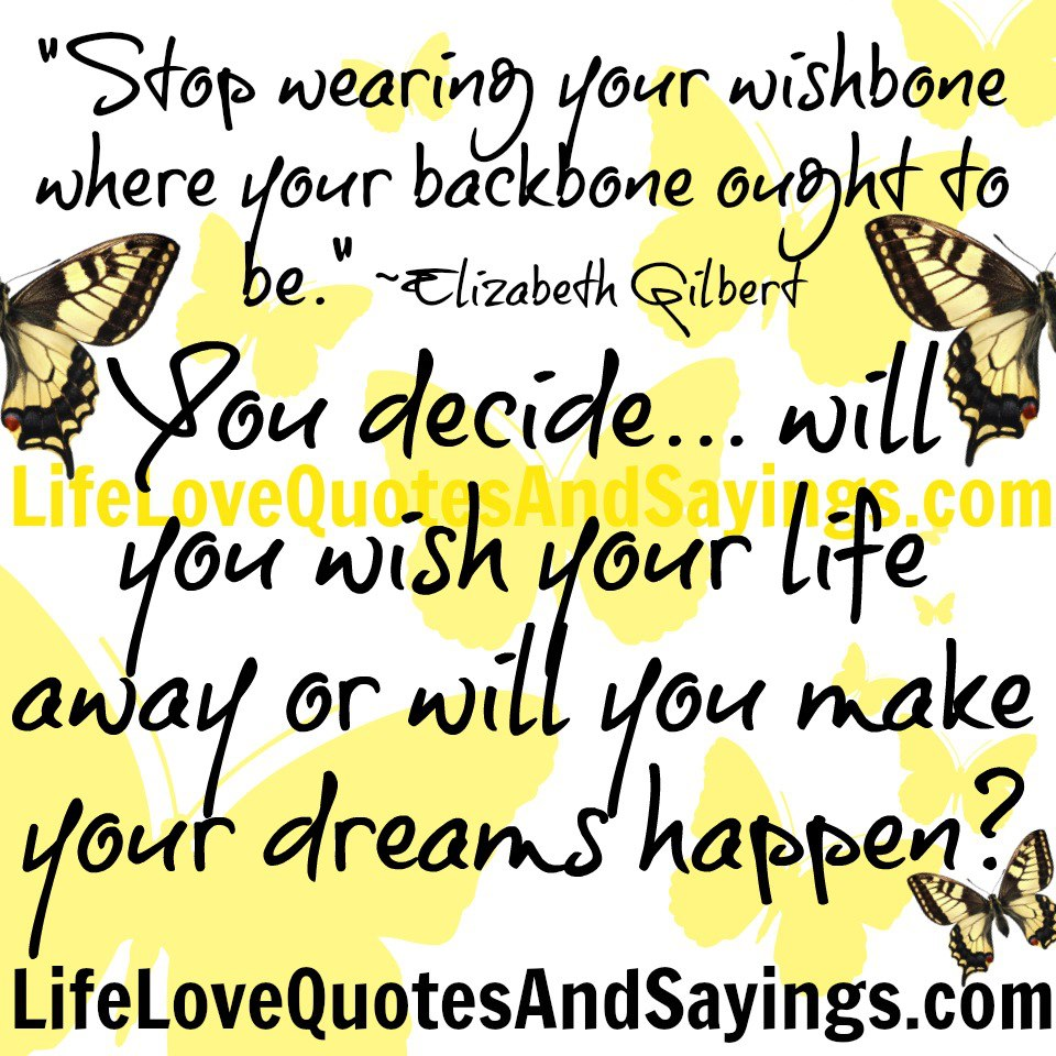 Wishbone quote #2