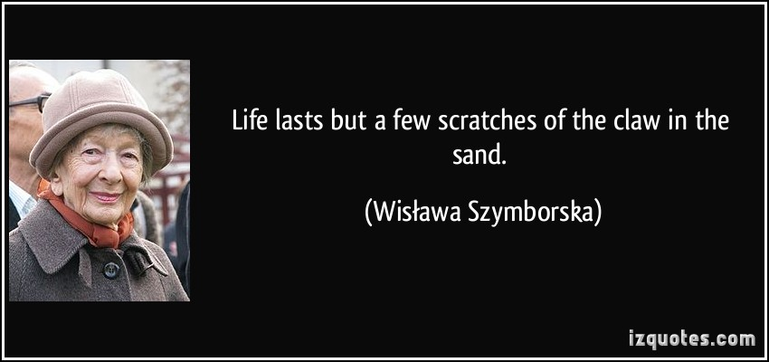 Wislawa Szymborska's quote #3