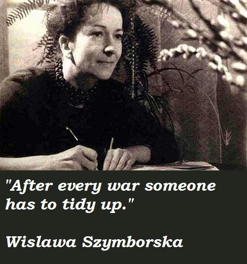 Wislawa Szymborska's quote #5