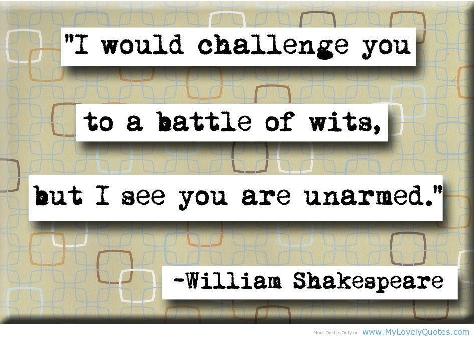 Wits quote #3