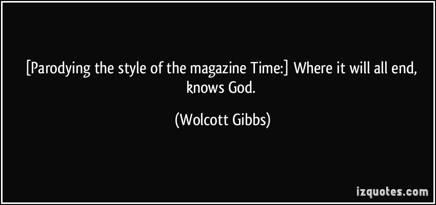 Wolcott Gibbs's quote #1