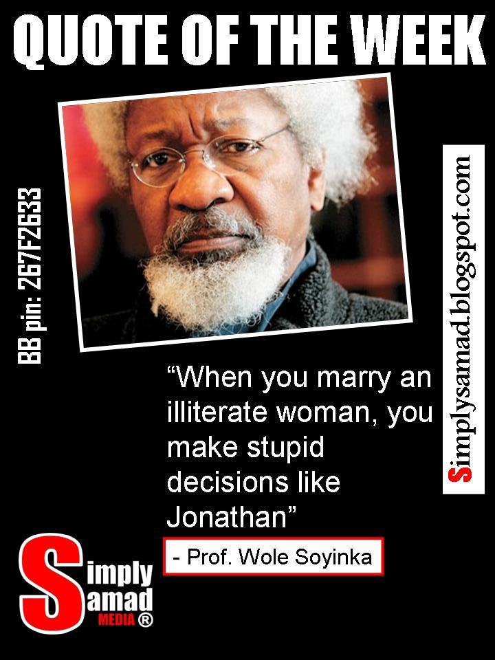 Wole Soyinka's quote #3