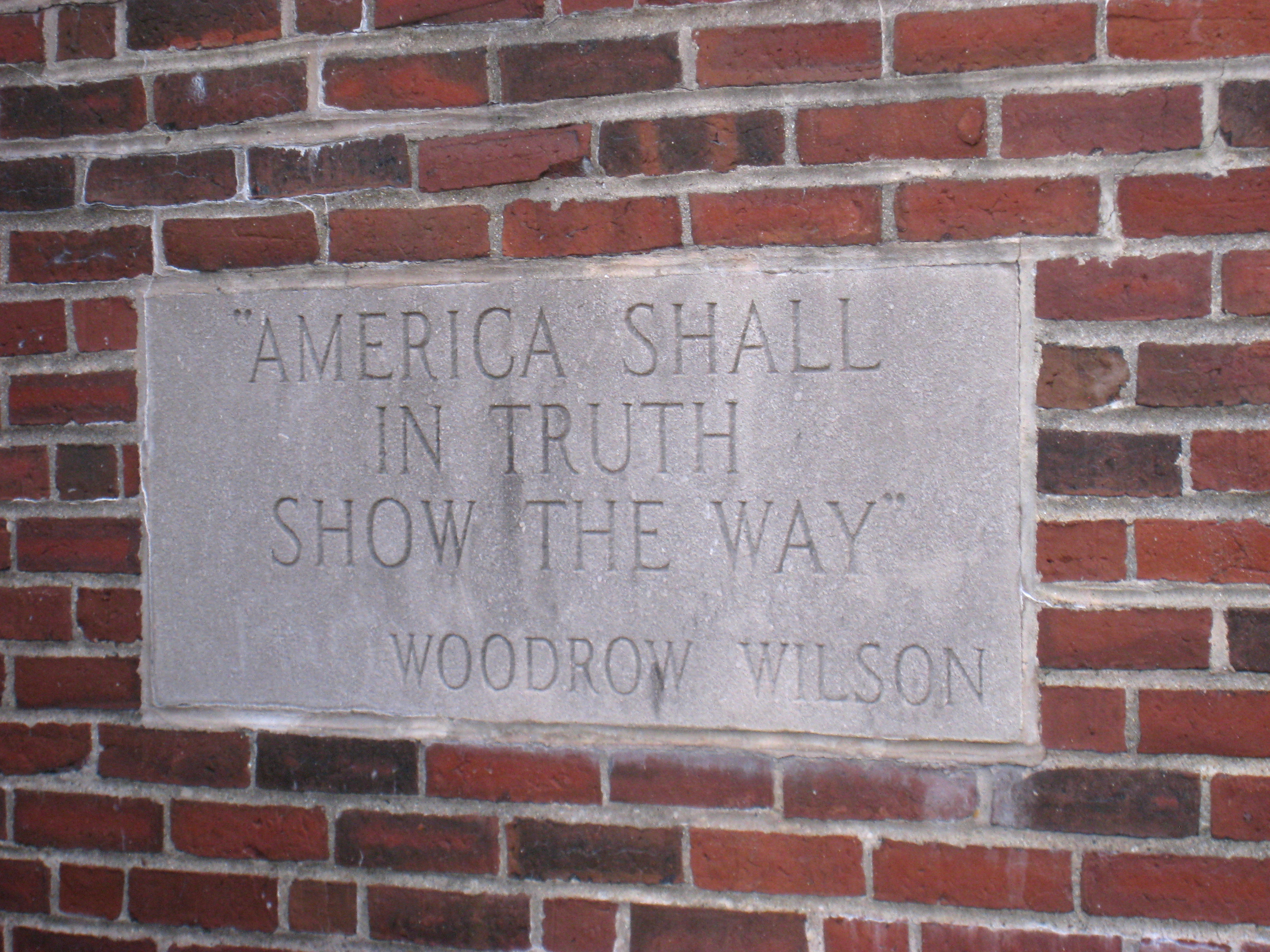 Woodrow Wilson quote #1
