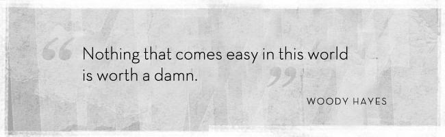 Woody Hayes's quote #8