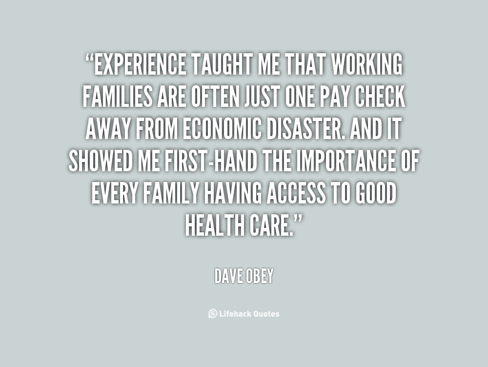 Working Families quote #1
