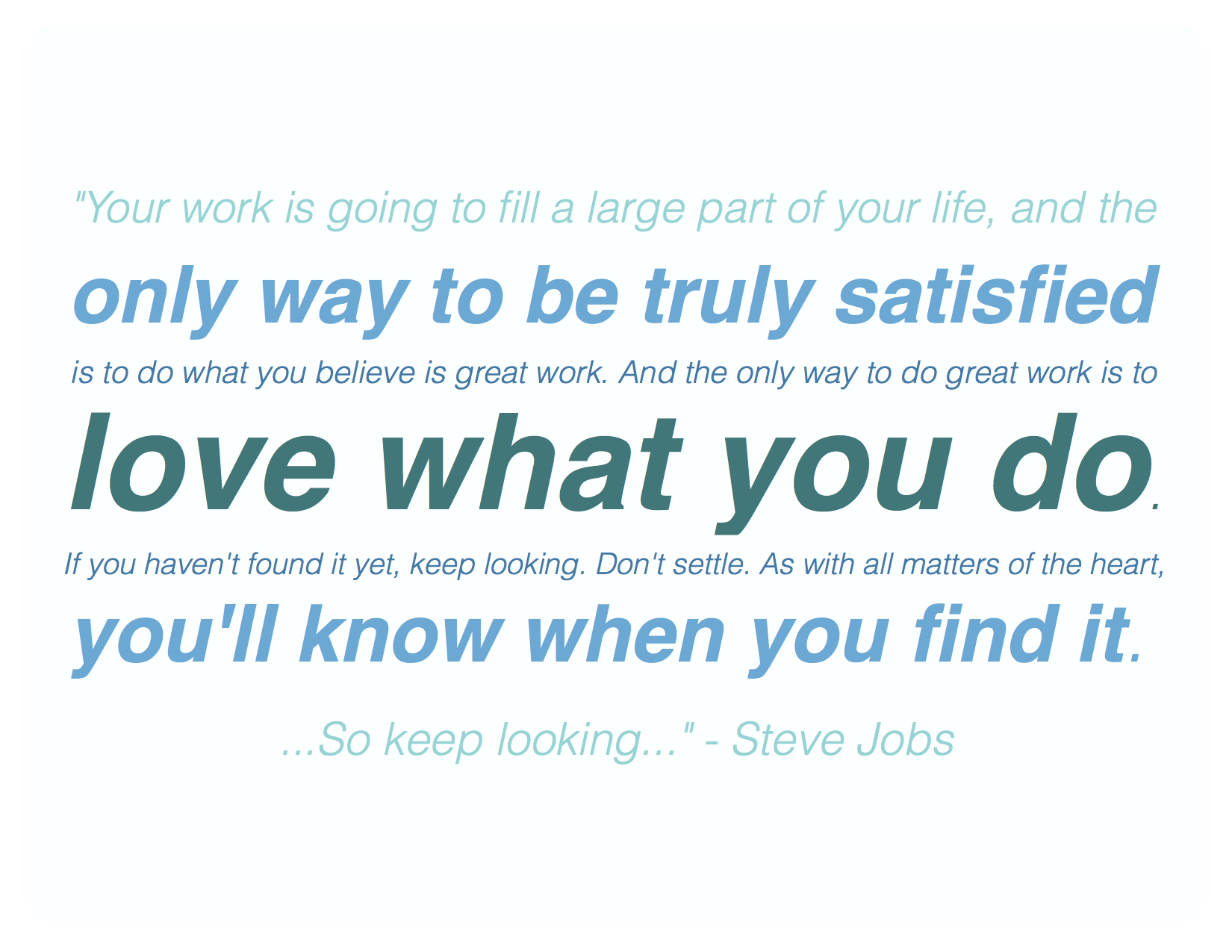 Working Life quote #2