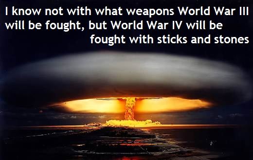 Famous Quotes About World War Iii Sualci Quotes
