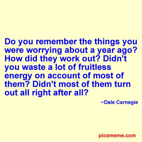 Worry quote #7