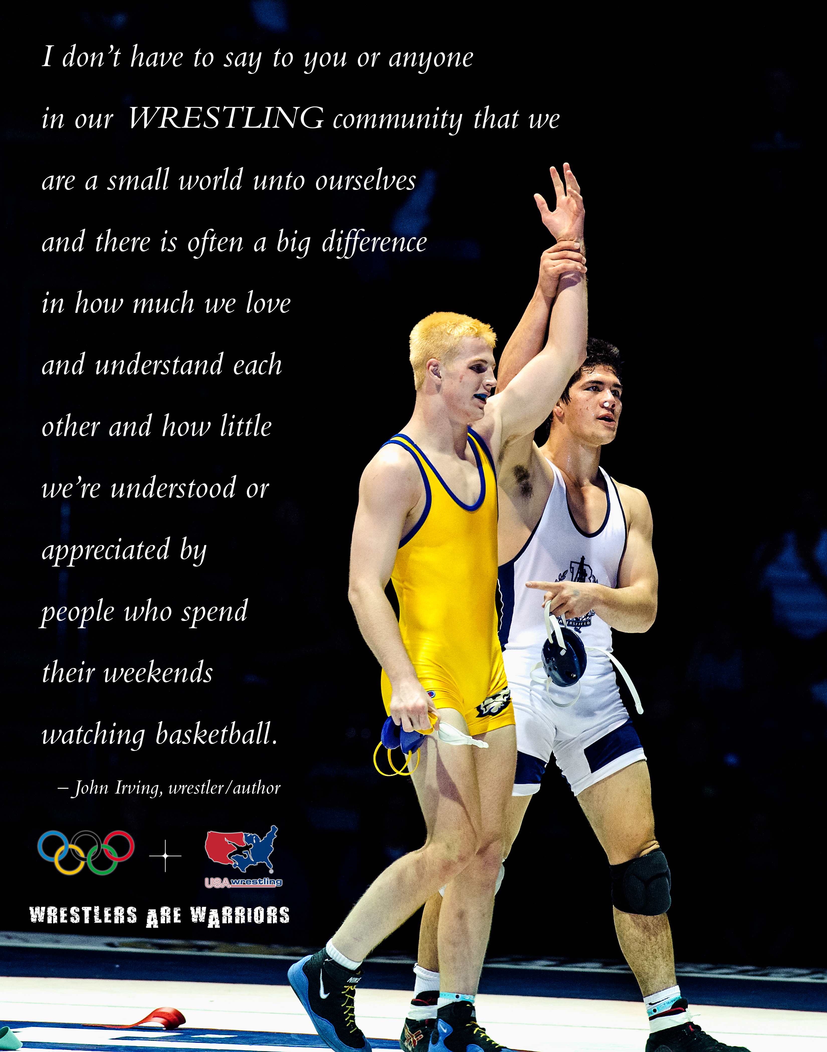 Wrestler quote #1
