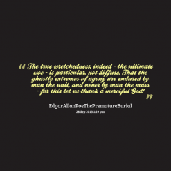 Wretchedness quote #1