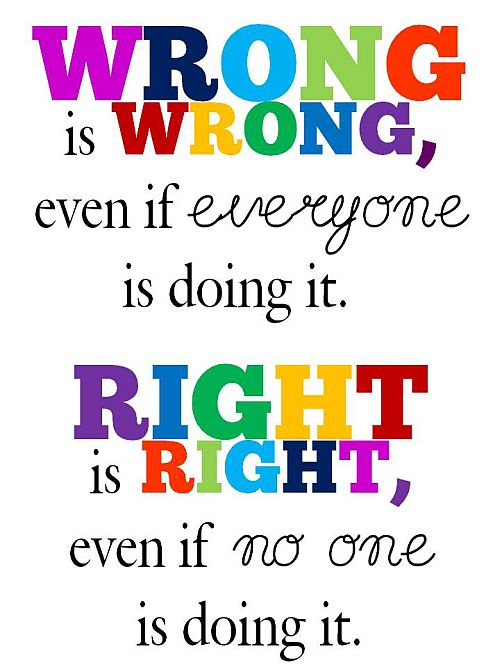 Famous Quotes About Wrong Doing Sualci Quotes