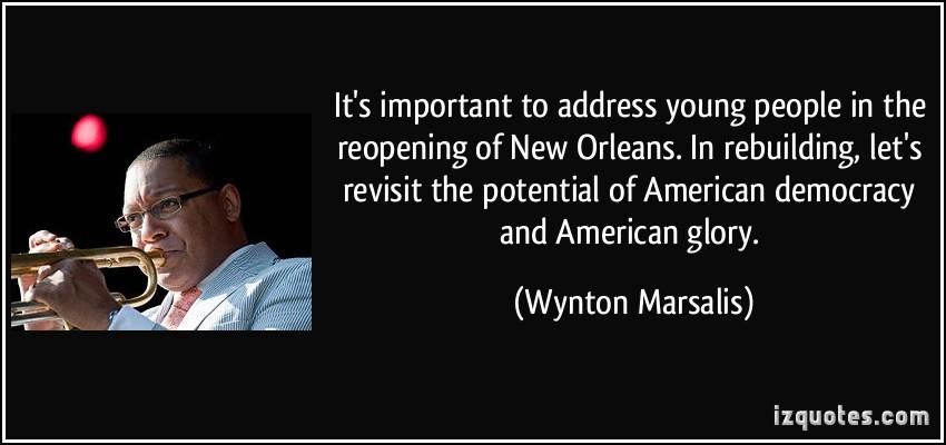 Wynton Marsalis's quote #6