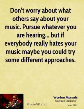 Wynton Marsalis's quote #4