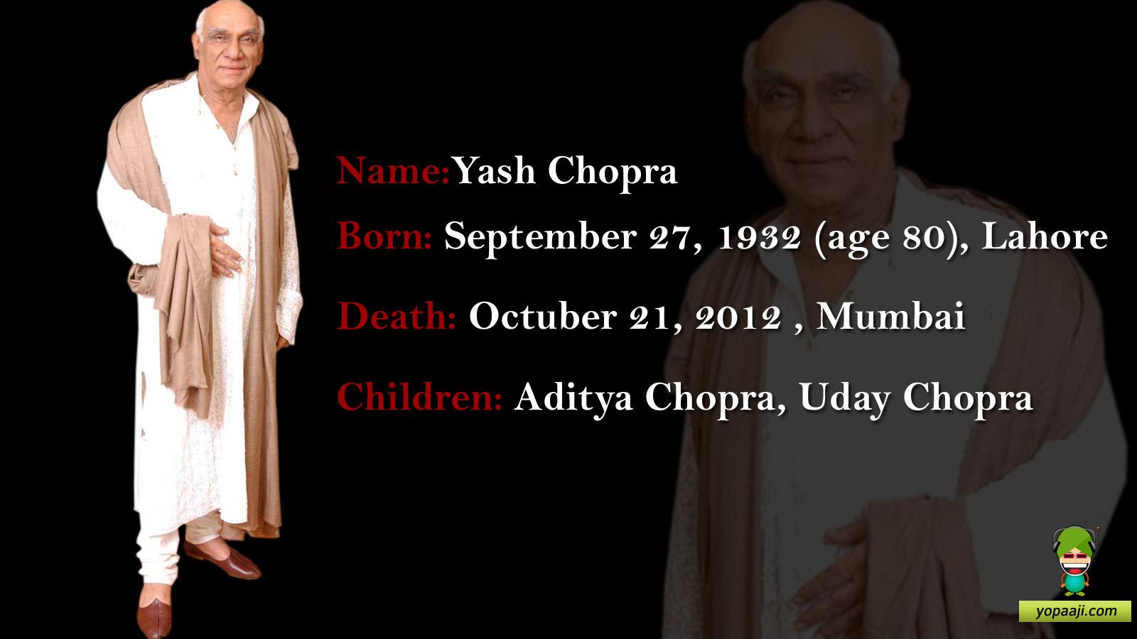 Yash Chopra's quote #1