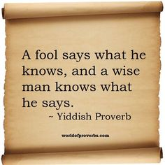 Yiddish quote #1