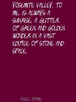 Yosemite quote #2