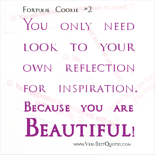 Elegant You Are Beautiful Quote #2