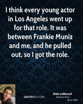 Young Actors quote #1