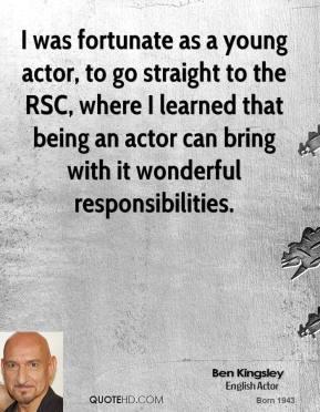 Young Actors quote #2