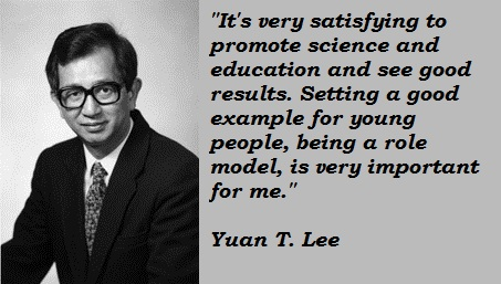 Yuan T. Lee's quote