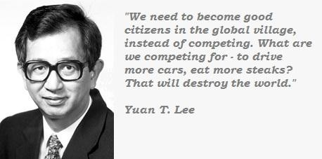 Yuan T. Lee's quote #1
