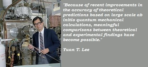Yuan T. Lee's quote #2