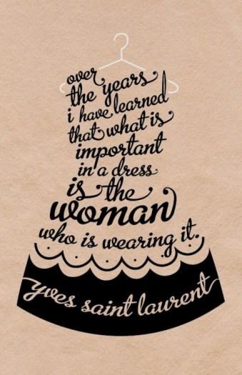 Yves Saint Laurent's quote #2