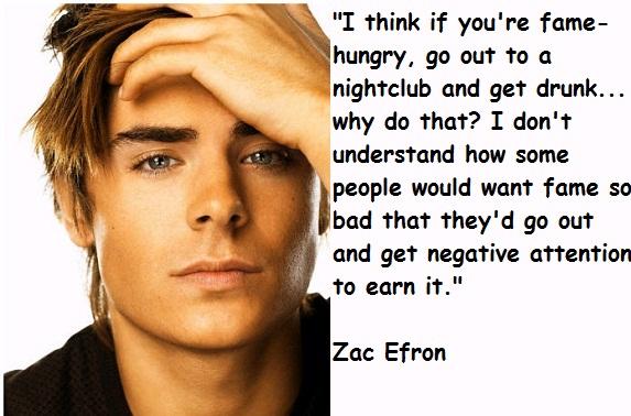 Zac Efron quote #1