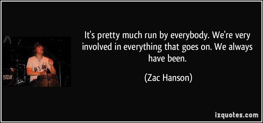 Zac Hanson's quote #6