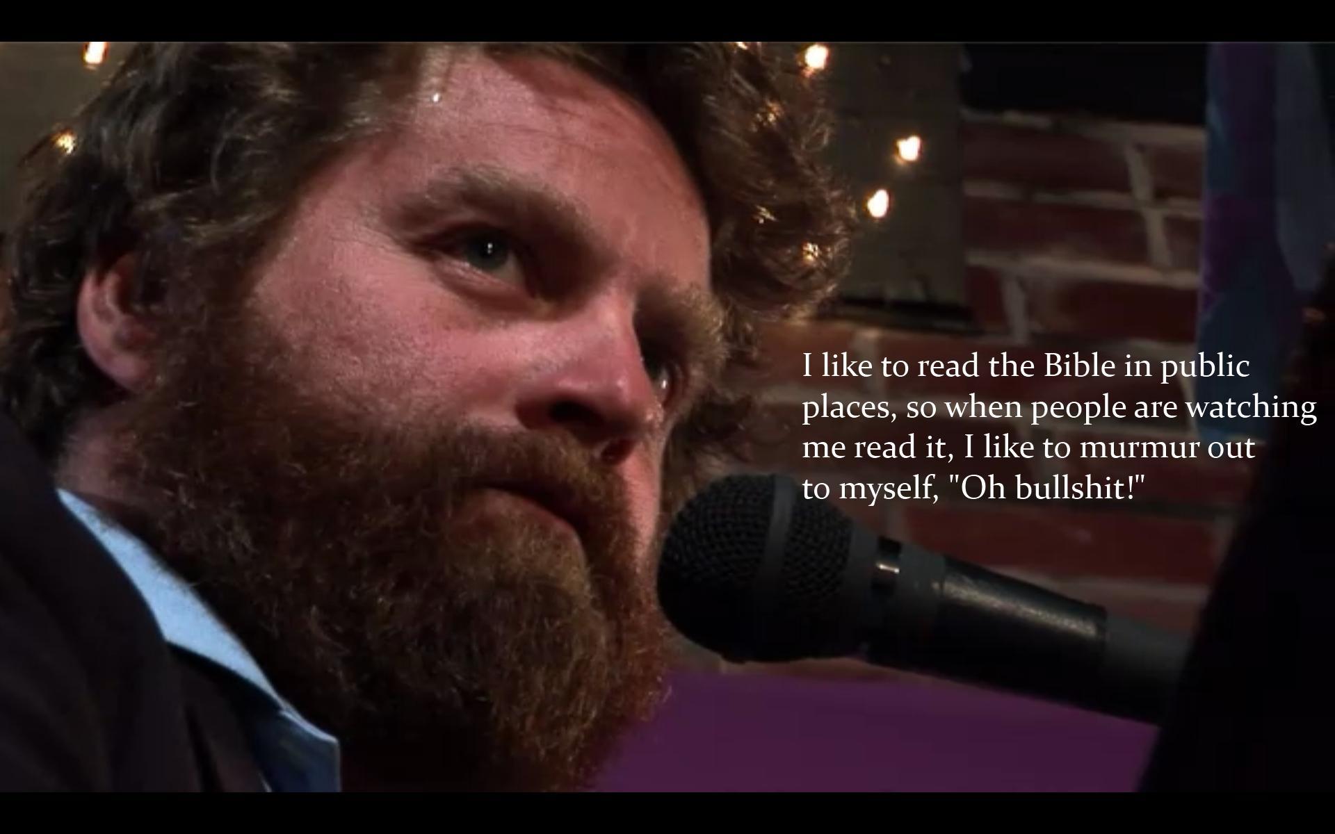 Zach Galifianakis's quote #3