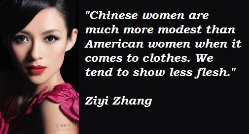 Zhang Ziyi's quote #5