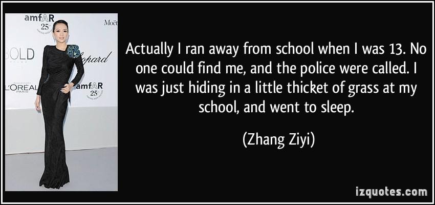 Zhang Ziyi's quote #3