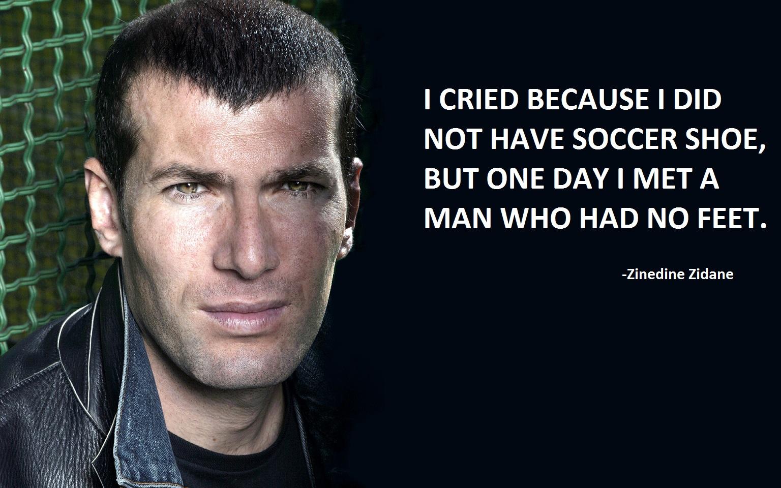 Zinedine Zidane's quote #4