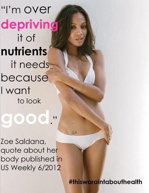 Zoe Saldana's quote #1