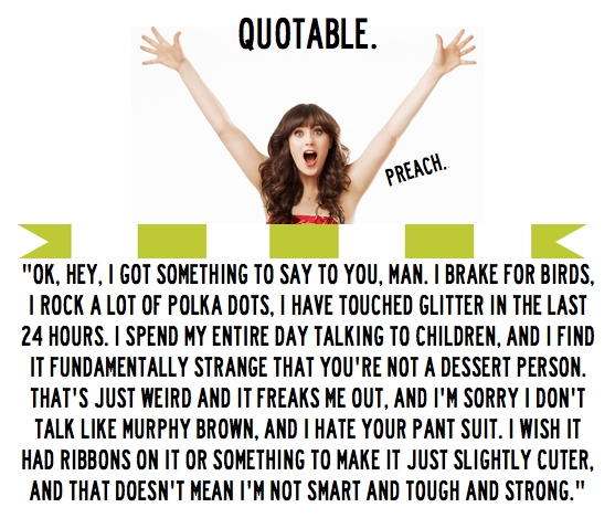 Zooey Deschanel's quote #4