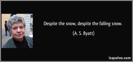 A. S. Byatt's quote