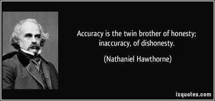 Accuracy quote #3