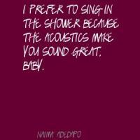Acoustics quote