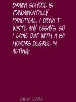 Acting School quote #2