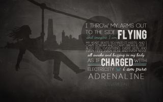 Adrenalin quote #2