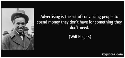 Advertising quote #2
