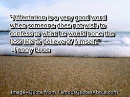 Affectation quote #2
