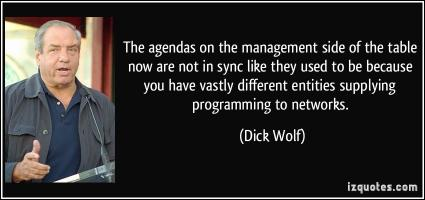 Agendas quote #1