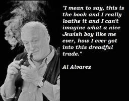 Al Alvarez's quote